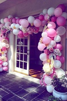 Bridal Shower, Ballongirlande, , JGA, Bachelorette Party, Hochzeit