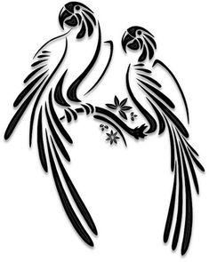 Ideas for bird silhouette free stencils Vogel Silhouette, Bird Silhouette Art, Bird Stencil, Stencil Art, Stencil Patterns, Stencil Designs, Free Stencils, Scroll Saw Patterns, Bird Drawings