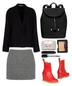 """""""SWEDISH HASBEENS Ankle boot"""" by thestyleartisan ❤ liked on Polyvore featuring Tory Burch, Tiger of Sweden, Swedish Hasbeens, Benedetta Bruzziches, T By Alexander Wang and NARS Cosmetics"""