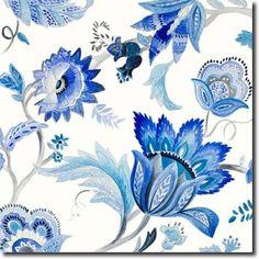 Capri Floral I - Loreth, Lanie