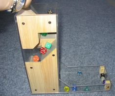 Dice Tower - Though I'd make the exterior wooden as well.