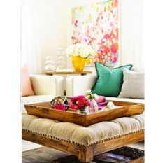 Living room, kid safe coffee table