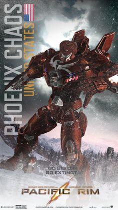 Phoenix Chaos - USA #pacificrim