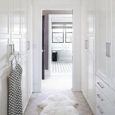 Walk Through Closet Design Ideas, Pictures, Remodel and Decor