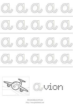 Vocales en mayusculas para imprimir - Imagui