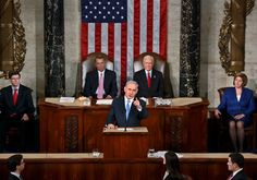 Prime Minister Benjamin Netanyahu during his speech to US Congress on March 3, 2015, with US Speaker of the House John Boehner and President pro tempore of the US Senate Orrin Hatch applauding behind him Photo By: REUTERS