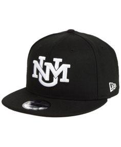 New Era New Mexico Lobos Black White Fashion 9FIFTY Snapback Cap f17499c6297