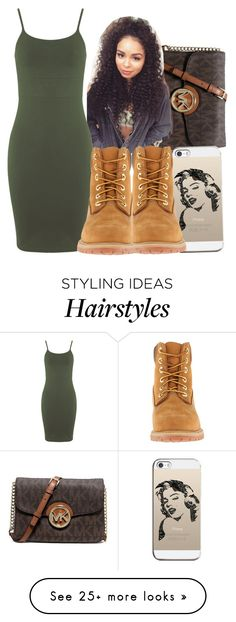 """Untitled #238"" by oh-thatasia on Polyvore featuring MICHAEL Michael Kors, CO, Miss Selfridge, Casetify and Timberland"