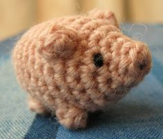 free crochet patterns: little lucky pig - crafts ideas - crafts for kids