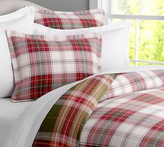 Cambridge Reversible Duvet Cover & Sham