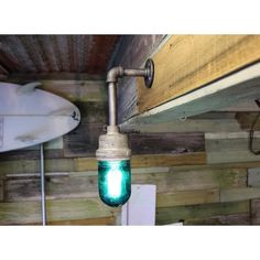 Filamentos impresion 3d Explosion-proof Crouse-Hinds wall light with green globe #lamp #light #vintage #industrial #coastal #driftwood #wood #reclaimed #reclaimedwood #woodwork #steampunk #pipe #edisonbulb #lightbulb #bulb #designervintagelighting #lajolla #sandiego#custom#design #decor #interiordesign #green No olvides checar nuestros servicios de impresion3d en pachuca