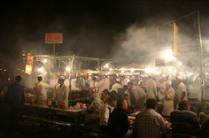 Marrakech's Djemma el Fna - it has to be seen to be believed