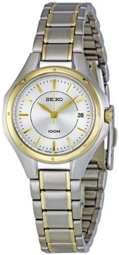 Seiko Bracelet Women's Quartz Watch SXDE14 Seiko. $77.30. Water Resistant up to 100 m. second-hand