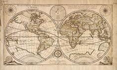 planisphere duval. Древние карты мира в высоком разрешении - Старинные карты