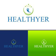 Healthyer - Create an innovative logo for a Healthyer, Inc., which helps patients manage their chronic disease. We help patients manage their chronic diseases, such as diabetes or cardiovascular disease. We provide analytic inpu. Real Estate Business Cards, Unique Business Cards, Business Logo, Innovative Logo, People Logo, Medical Logo, Logo Design Contest, Clinic, Innovation