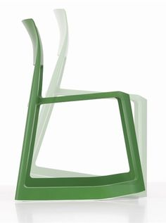 Plastic chair TIP TON Vitra