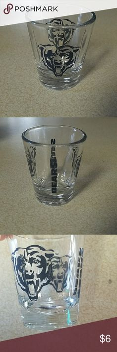 Bears shot glass Chicago bears shot glass  Bundle for a deal! chicago bears Other