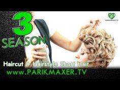 + Haircut hairstyle for short hair. Anna Druzyaka. parikmaxer tv tv hairdresser