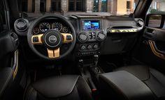 2016 Jeep Wrangler Diesel interior