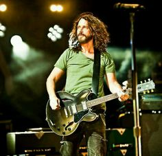 Mr. Chris Cornell (Soundgarden, Audioslave) One of the best vocalists of our time. Period.