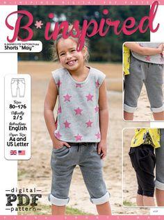Shorts MAY PDF Pattern + Tutorial at Makerist
