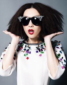 """Color Refresh"" | Model: Ruby, Photographer: Kwan, Jessica Hong Kong Magazine, June 2014"