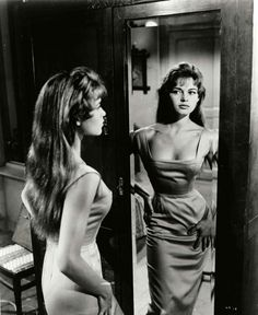 "sweethearts & characters — Brigitte Bardot in ""The Light Across the Street""..."
