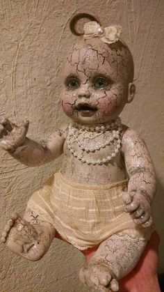 Rose the sweet and petite  creepy doll with by EleganceOfTheHeart
