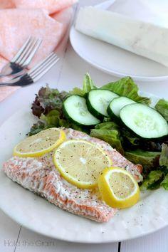 Lemon salmon.