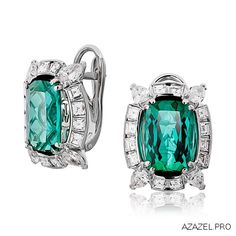 Серьги с Изумрудами Earrings with Emeralds  #earrings #изумруд #emerald #алмаз #diamond #серьги #красота #камень #мода #стиль #fashion #woman #stone #style #jewelry #bijouterie #jewellery #podium #gemstone #exclusive #russia #украшения #best #эксклюзив #россия #супер #best #дизайн #design