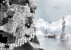 The Scraper Collects and Burns the Pacific Garbage Patch | Renkli Şeyler