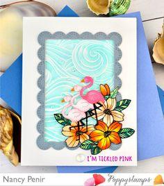 Memory Box Cards, Flamingo, Pink, Flamingo Bird, Flamingos, Pink Hair, Roses