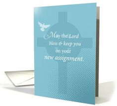 Religious New Assignment, Dove card