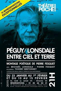 Michael Lonsdale offre une oraison poétique à Charles Péguy