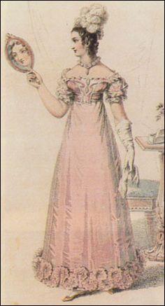 1805 Empire Dress