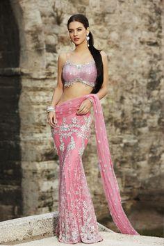 4cdf3519b7 Maria Sokolovski in Seasons India Collection 2009 Indian Attire, Indian Wear,  Indian Saris,