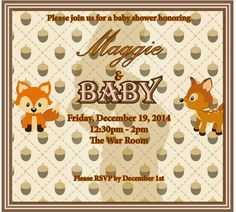"""Amanda Gia: Event Planning: The Ultimate """"At-Work"""" Baby Shower"""