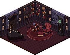 Haunted Mansion Iso Tribute @ PixelJoint.com
