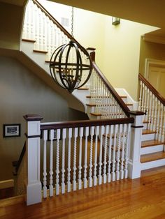 Newel Post Design, Pictures, Remodel, Decor and Ideas - page 5
