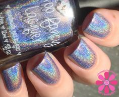 Too Fancy Lacquer Blue Willow & Orchid of 2014 Swatches and Review | Cosmetic Sanctuary