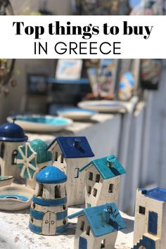 Wondering what to buy in Greece? Check out this list of unique Greek souvenirs to bring back from your trip AND to enjoy while you are in Greece! Corfu Greece, Santorini Greece, Athens Greece, Greece Vacation, Greece Travel, Greece Trip, Greece Cruise, Greece Tours, Florida Vacation