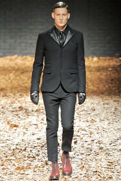 Skinhead tailoring at McQ AW12