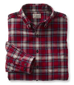 #LLBean: Wicked Good Flannel Shirt, Traditional Fit