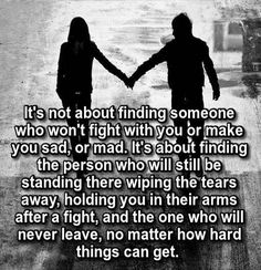 The person who holding you