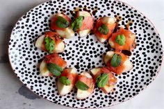Christmas canapé recipe: nectarines wrapped in smoked salmon - Kerstin Rodgers