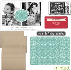 Minted for your holiday cards