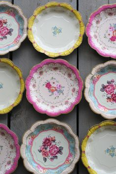 Victorian China Paper Plates - way too pricey for us but we like the ...
