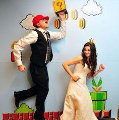 Super Mario Bros Photo Booth Theme