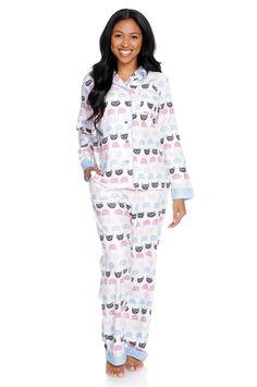Cat /& Jack Girls I/'m Snow Happy Pajama Lounge 2 Piece Set Fleece Bottom NWT