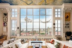 A New York penthouse once owned by sculptor Karl Theodore Francis Bitter has hit the market for $13.25 million. The 4,185-square-foot home, which dates back to 1901, features three bedrooms, three bathrooms, a reception hall, a den, a dining room with Gothic windows, a wine cellar, staff accommodations and views of the Museum of Natural History, Central Park and Manhattan.